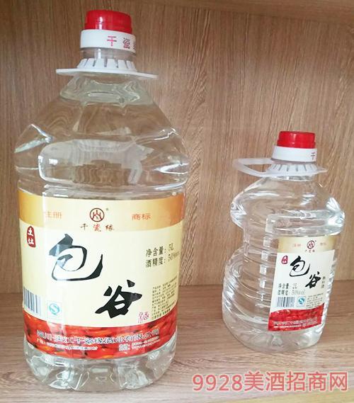 千瓷缘包谷酒50度5L