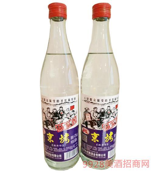京烤品鉴酒浓香型42度500ml
