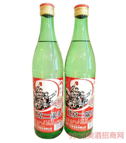 地道京味北京二锅头酒清香型42度500ml