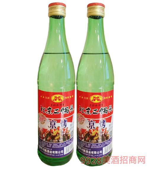 京烤北京二锅头酒清香型-42度500ml