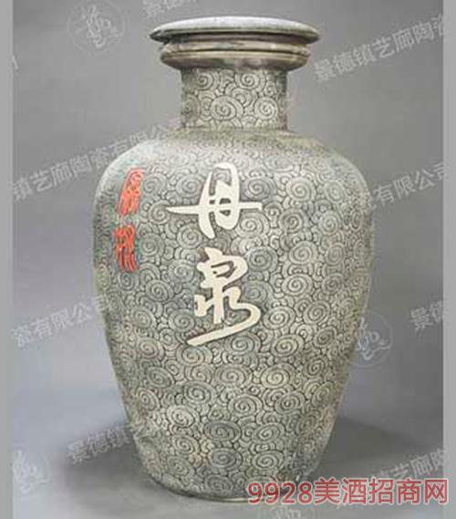 手工雕刻大缸酒瓶DZ0003