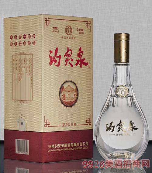 趵突泉酒45度兼香型