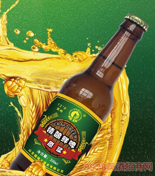 福瑞精酿鲜啤330ml