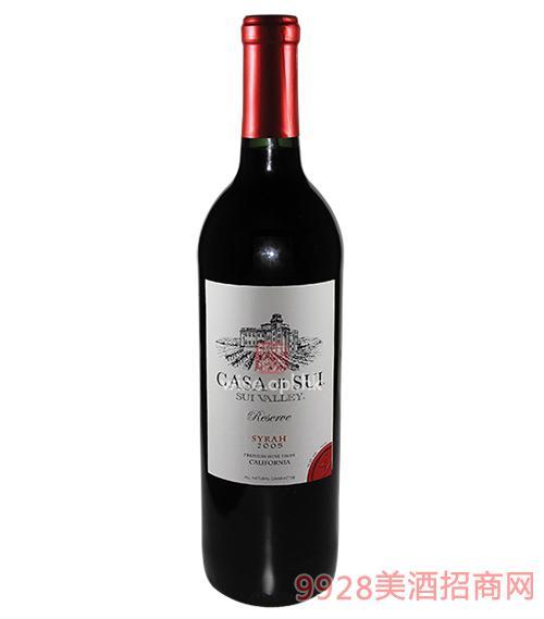 是谷庭经典西拉红葡萄酒 2005