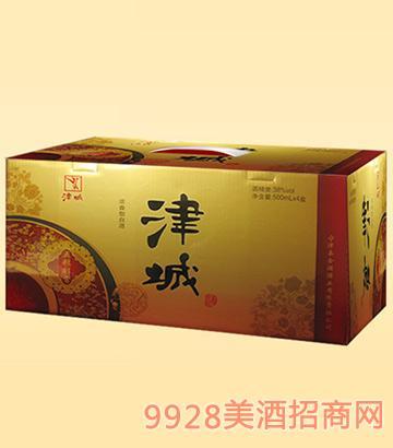 津城酒五糧醇香38度