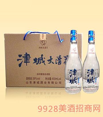 津城酒大青花