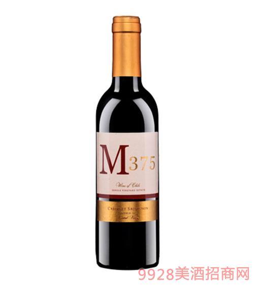 智利M375精选赤霞珠红葡萄酒