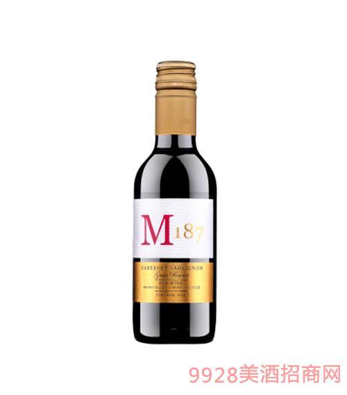 智利M187特级珍藏赤霞珠红葡萄酒-金标