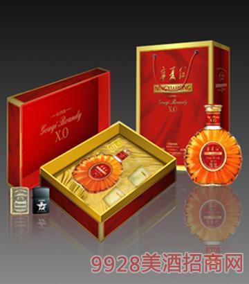宁夏红枸杞白兰地礼盒41度750ml