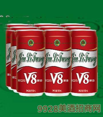 V8 10度啤酒易拉罐装