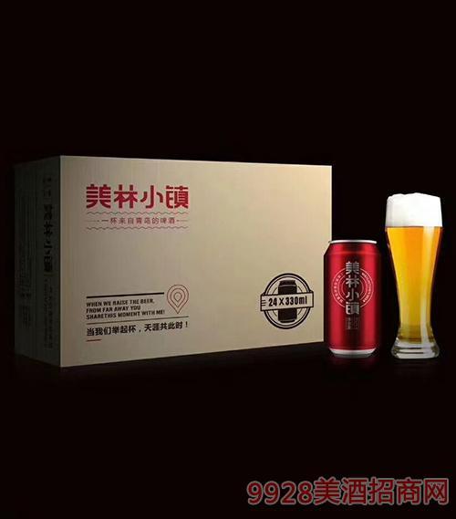 美林小镇啤酒一展鸿图330mlx4