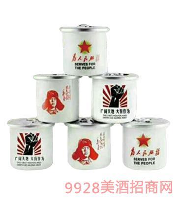 东北情茶缸酒