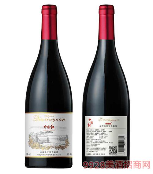 中国红倾馨缘赤霞珠干红葡萄露酒