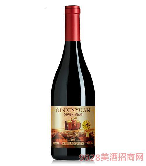 金版橡木桶陈酿干红葡萄酒12度750ml