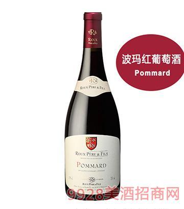 胡氏父子酒庄波玛红葡萄酒