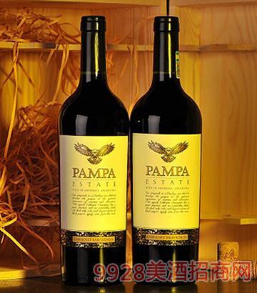 潘帕斯雄鹰庄园赤霞珠红葡萄酒