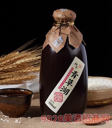 青草湖半干型黄酒花雕酒500mlx6