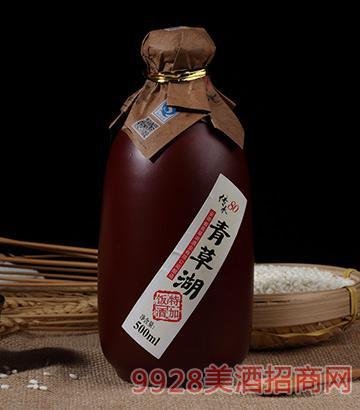 青草湖半甜型善酿酒500mlx6