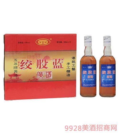 绞股蓝黄酒五年陈12度500ml
