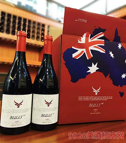 澳洲公牛红葡萄酒