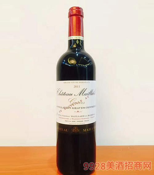 法国美兰庄园干红葡萄酒