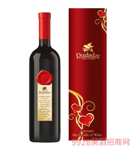 阿拉赞河谷半甜红葡萄酒