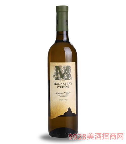 阿拉赞河谷半甜白葡萄酒11.5度