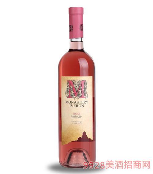 桃红半干型葡萄酒11.5度