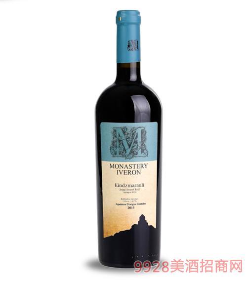 金泽马拉乌里自然半甜红葡萄酒11度