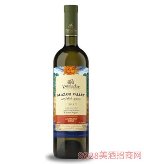 阿拉赞河谷半甜白葡萄酒
