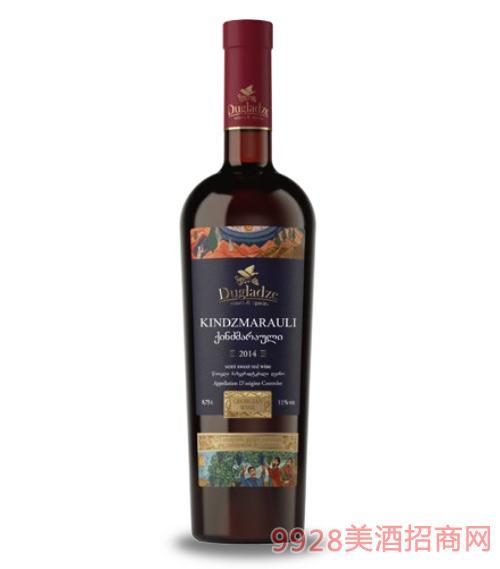 金泽马拉乌里半甜红葡萄酒