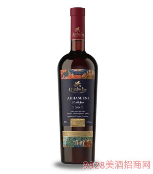 阿哈申尼半甜红葡萄酒