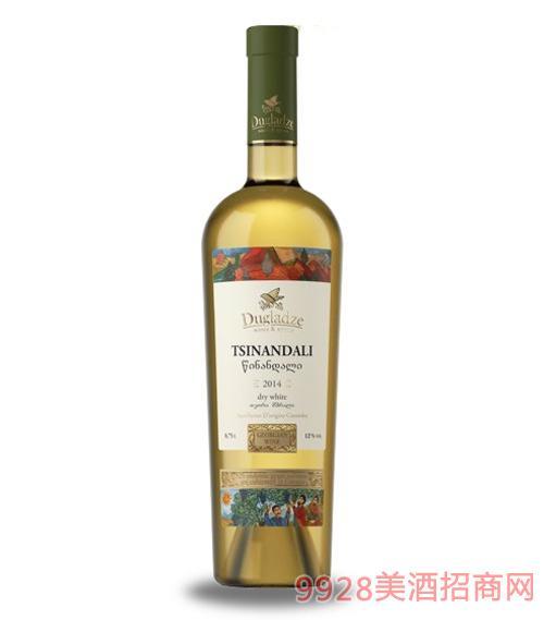茨南达利干白葡萄酒