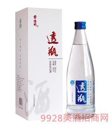 景阳冈酒透瓶