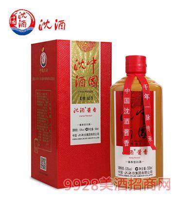 中国沈酒酱香型白酒53度