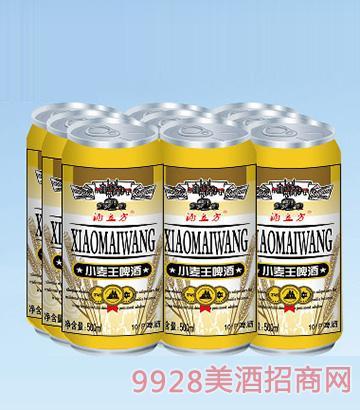 酒立方小麦王啤酒500ml×9塑包(易拉罐装)