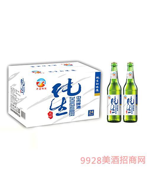 中冉纯生啤酒330ml×24瓶