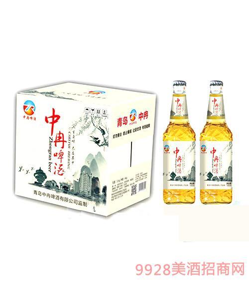中冉啤酒500ml瓶装