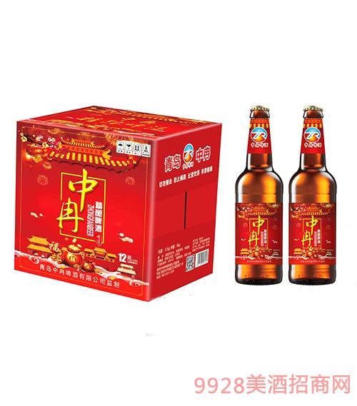 中冉精酿啤酒500ml瓶装