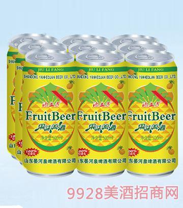 酒立方果味啤酒500ml×9(易拉罐装)