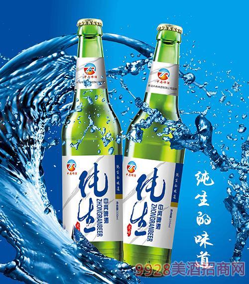 中冉纯生啤酒500ml