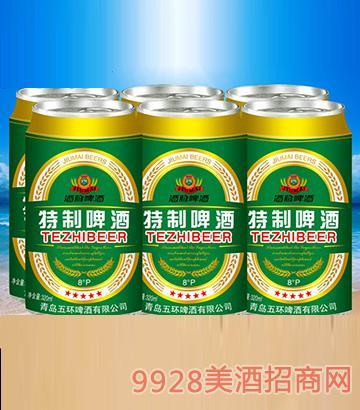 酒脉特制啤酒320ml×6