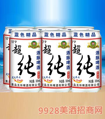 酒脉超纯啤酒320ml×6