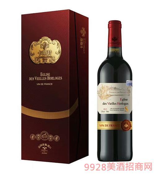 法国卡斯特干红葡萄酒