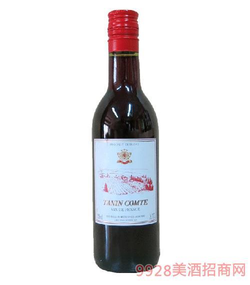 丹柠伯爵法国干红葡萄酒187ml