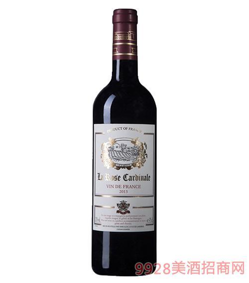 丹柠伯爵玫瑰干红葡萄酒