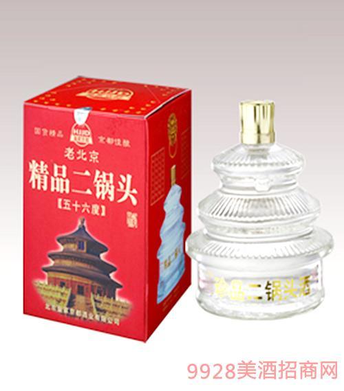 老北京珍品二锅头酒56度天坛盒装