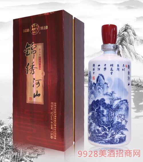 汾酒集团锦绣河山酒52度1.5L