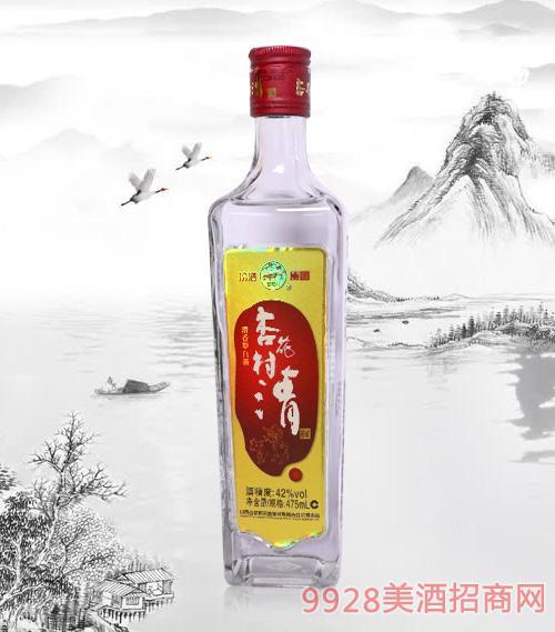 杏花村清酒光瓶酒(红)42度475ml