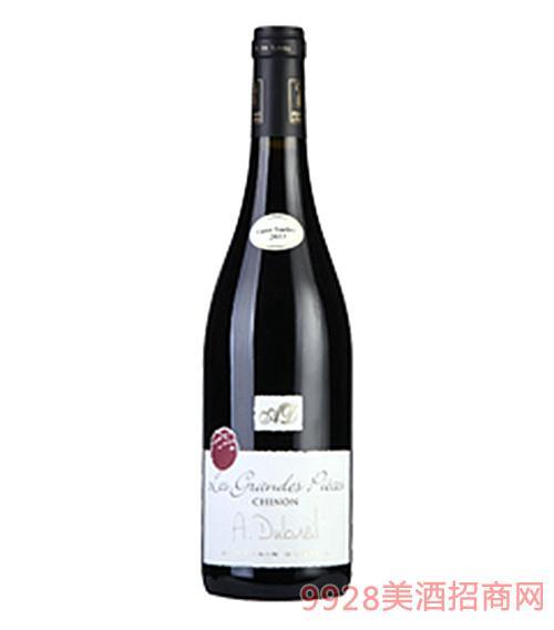 格兰?#31579;?#32418;葡萄酒法国希侬CHION产区AOC